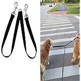 Fusion Pet Supplies - No Tangle Double Dog Leash Coupler - Double Dog Walker Splitter