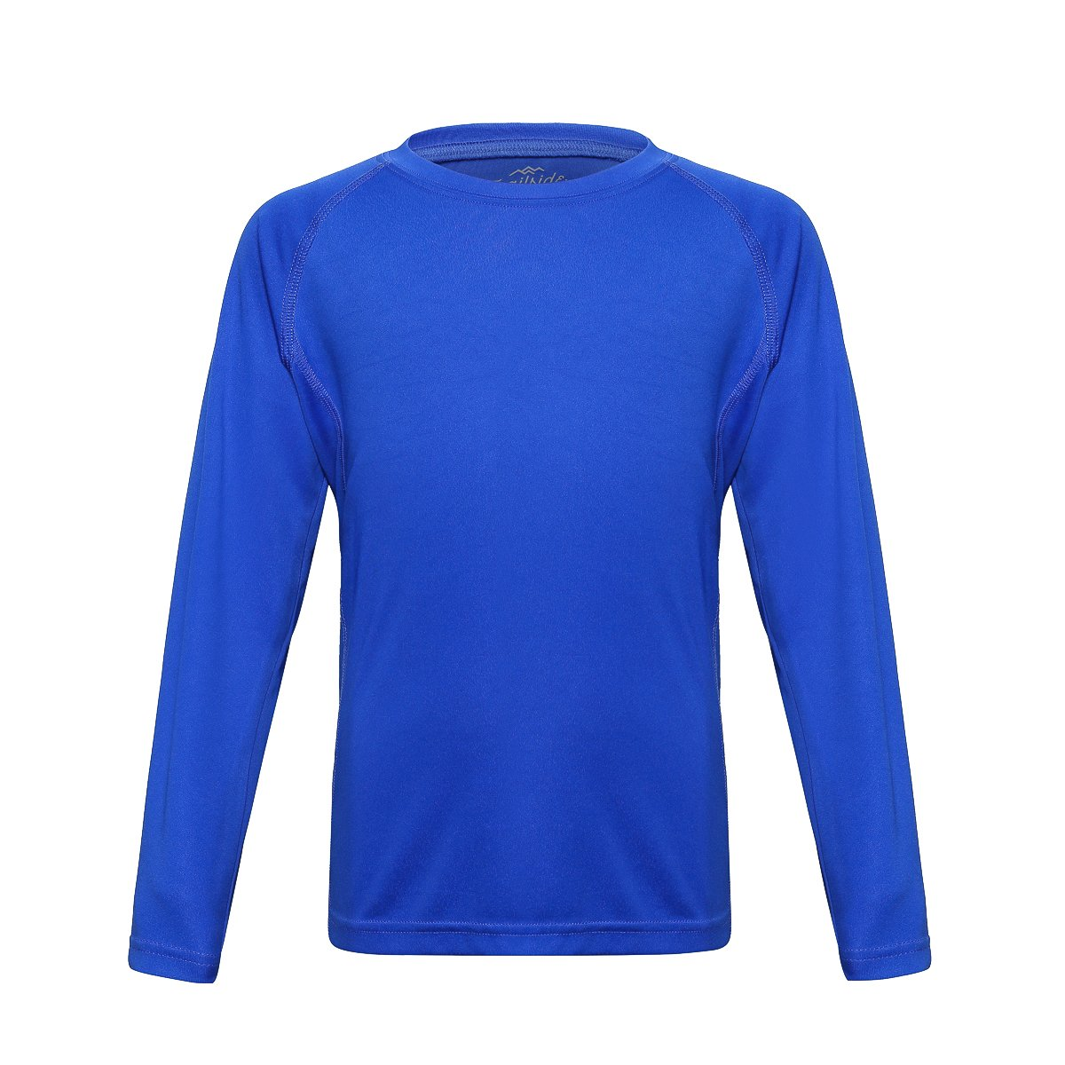 Trailside Supply Co. Big Boys' Quick-Dry Active Sport Long Sleeve Compression Baselayer T-Shirt