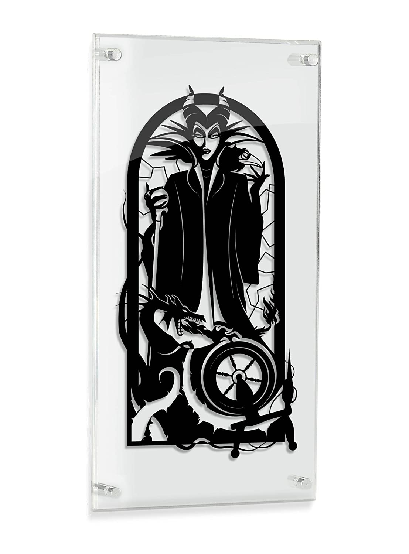 Maleficent - hand cut paper