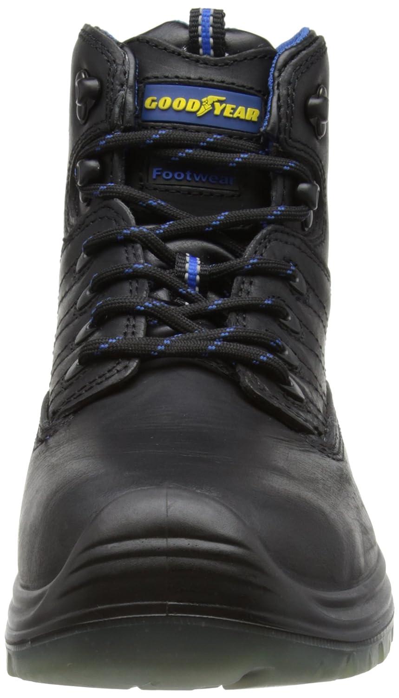 Goodyear Sherman - Zapatos De Seguridad de cuero hombre, color negro, talla 42.5 (9 UK): Amazon.es: Zapatos y complementos