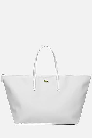 d72d977404 Amazon.com  Lacoste X-large Shopping Bag White  Shoes