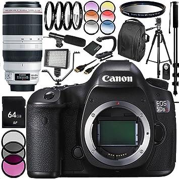 Canon EOS 5DSR cámara DSLR con EF 100-400mm f/4.5-5.6L IS II USM ...