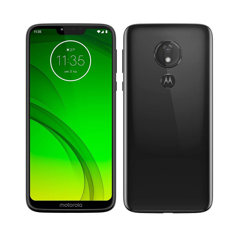 Motorola Moto G7 Power - Smartphone Android (pantalla 6.2 HD+ Max Vision, cámaras 12MP y 8MP, 4GB de RAM, 64 GB, Dual SIM), color negro [Versión ...