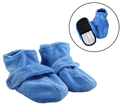 Obbomed MV-3910M Calcetines calentables para microondas, Tallas de zapato: M: #40 (válido de la talla 37 a la 40)