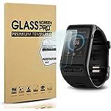 Diruite 4-Pack for Garmin Vivoactive HR Screen Protector Tempered Glass for Vivoactive HR [2.5D 9H Hardness] [Anti…