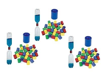 Amazon.com: Juego de 3 educativo Innovations Vortex botella ...