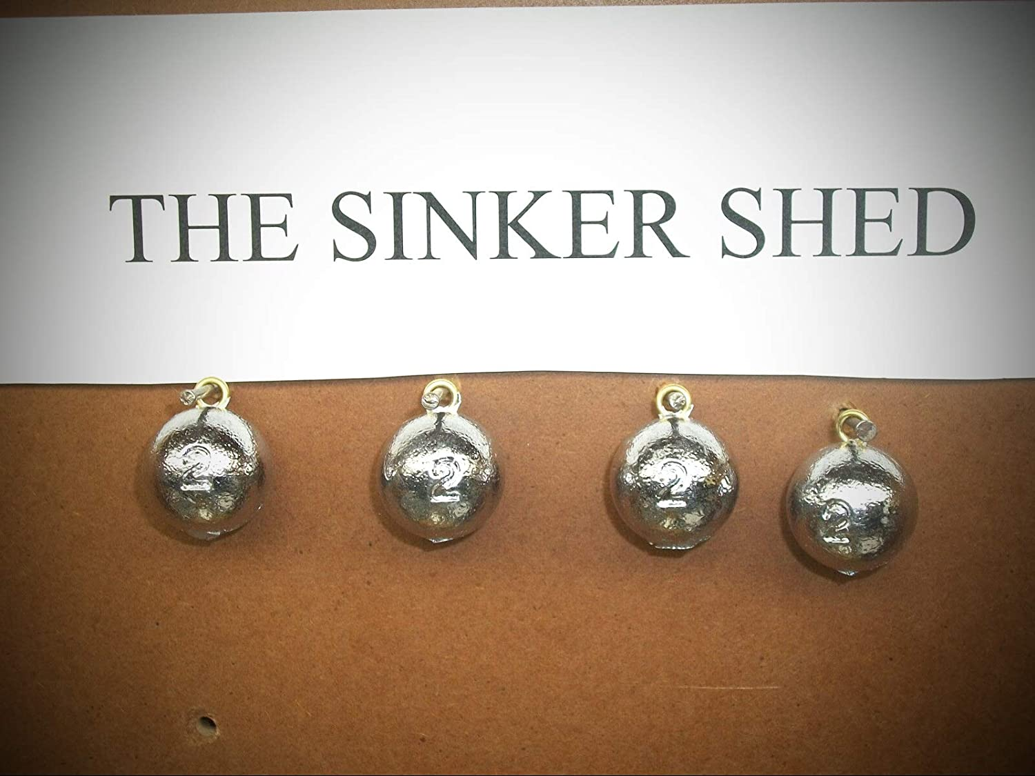 Lot of 12 Pyramid Fishing sinkers 4 of each 4 5 and 6 oz weights