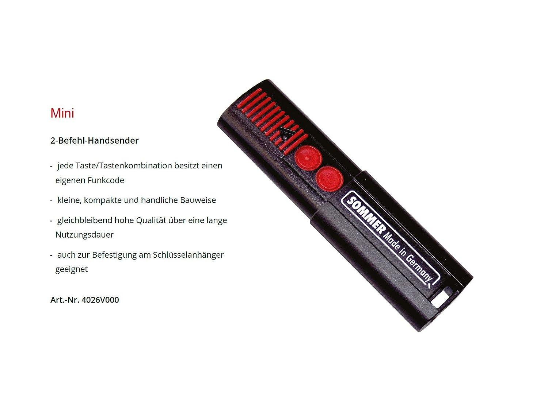1 St/ück ADAMS Schl/üsselanh/änger//Einkaufschip 1er Pack Sommer 4026V000 HansenderMini 868,8 Mhz