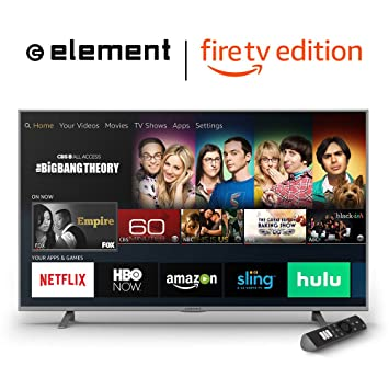 c7f48a155e93 Amazon.com  ELEMENT 55-Inch 4K Smart LED TV EL4KAMZ5517 (2017)  Electronics