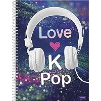 Caderno Universitário Kpop, Foroni 61.6281-1, Multicor
