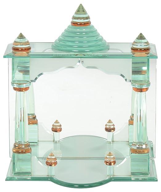 Buy SPIEGEL Glass Home Temple (500 cm x 300 cm x 500 cm, Transparent ...