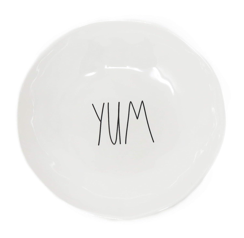 Melamine Pasta Bowls Rae Dunn Set Of 4 YUM New. EAT SNACK DELISH