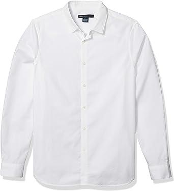 French Connection Hombre 52HAD Manga Larga Camisa con botones ...