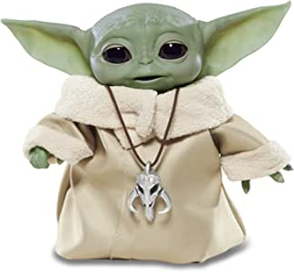 "Star Wars The Child Animatronic Edition ""AKA Baby Yoda"" with Over 25 Sound and Motion Combinations (Amazon Exclusive)"