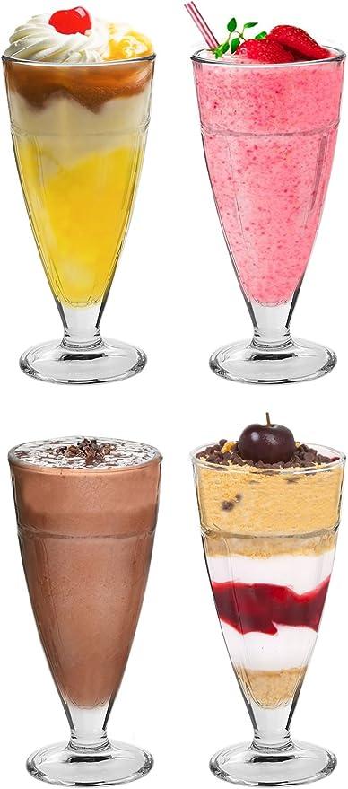 16 x acier inoxydable latte Long Thé Café Cuillère à soda Crème Glacée dessert Sundae