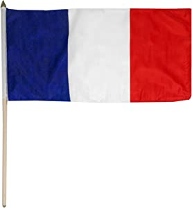 US Flag Store France Flag, 12 by 18-Inch
