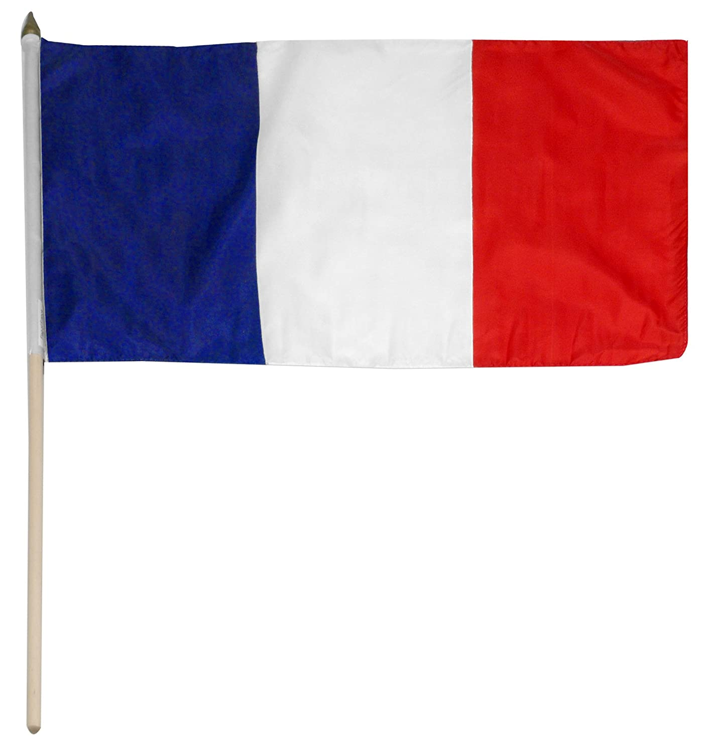 amazon com us flag store france flag 12 by 18 inch outdoor