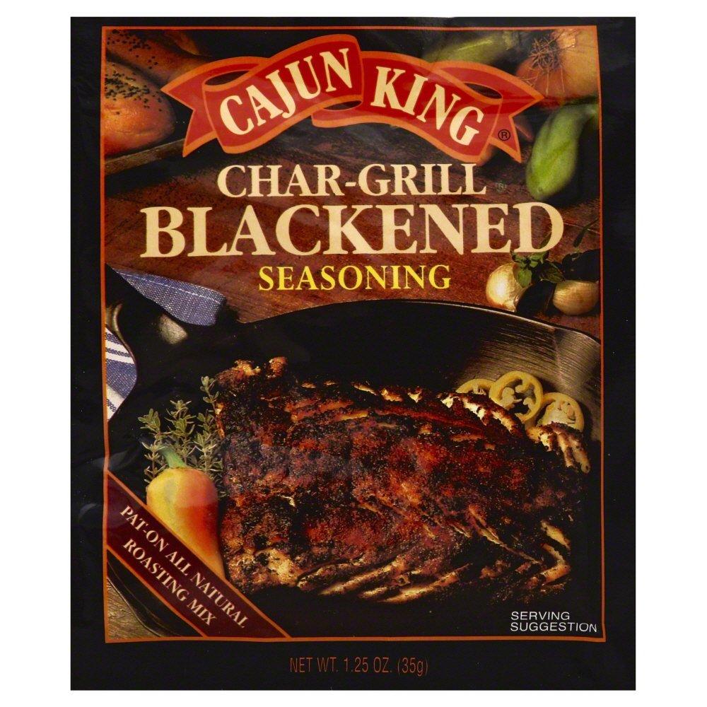 Cajun King Char Grilled Seasoning Mix 1.25 OZ (Pack of 2)