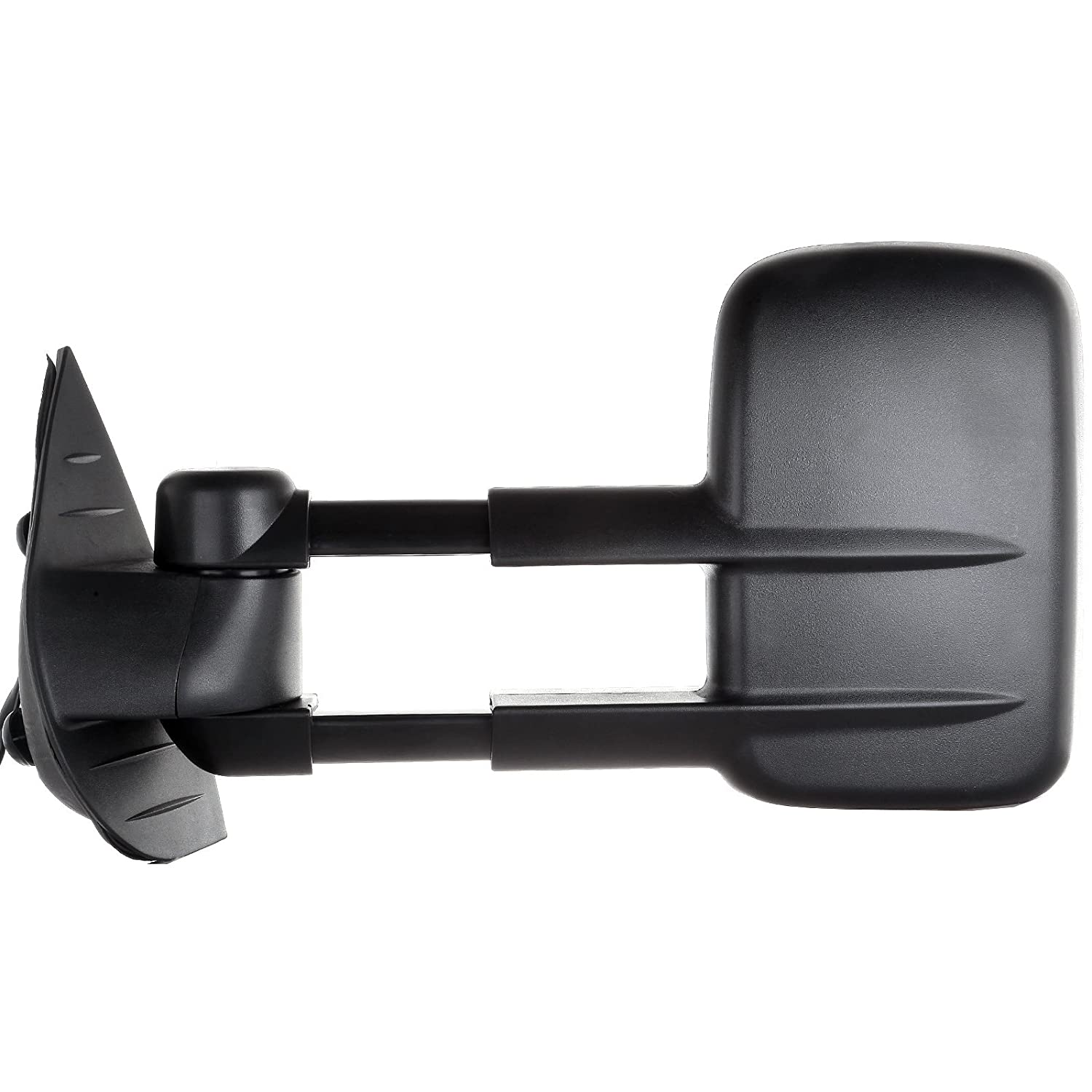 ECCPP Black Manual adjusted Side View Mirror Tow Towing Mirrors Left /& Right Pair Set for 94-01 Dodge Ram 1500 94-02 Ram 2500 3500 Truck