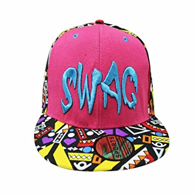 652be7ef3d068 TakeIncart Men S Fashion Swag Print Snapback Cap (Swag)  Amazon.in   Clothing   Accessories