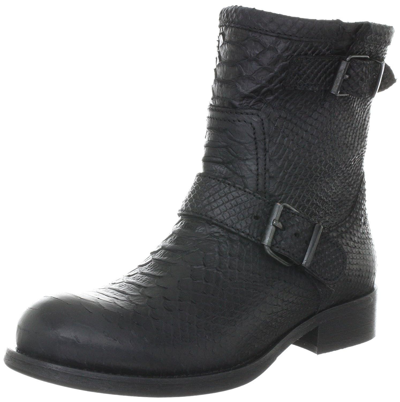 b16b3a75ff9 billi bi Copenhagen 919 020 Biker Boots Womens Black Schwarz (black ...