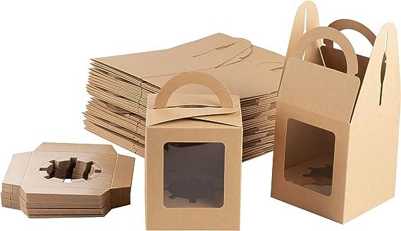 Lot of 25 cardboard packaging 200x200x110mm-cash box simple flute