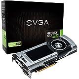 EVGA GeForce GTX TITANブラックwith g-syncサポート6GB gddr5384bitグラフィックスカードデュアルリンクDVI - I DVI - D HDMI DP SLI 06g-p4–3790-kr