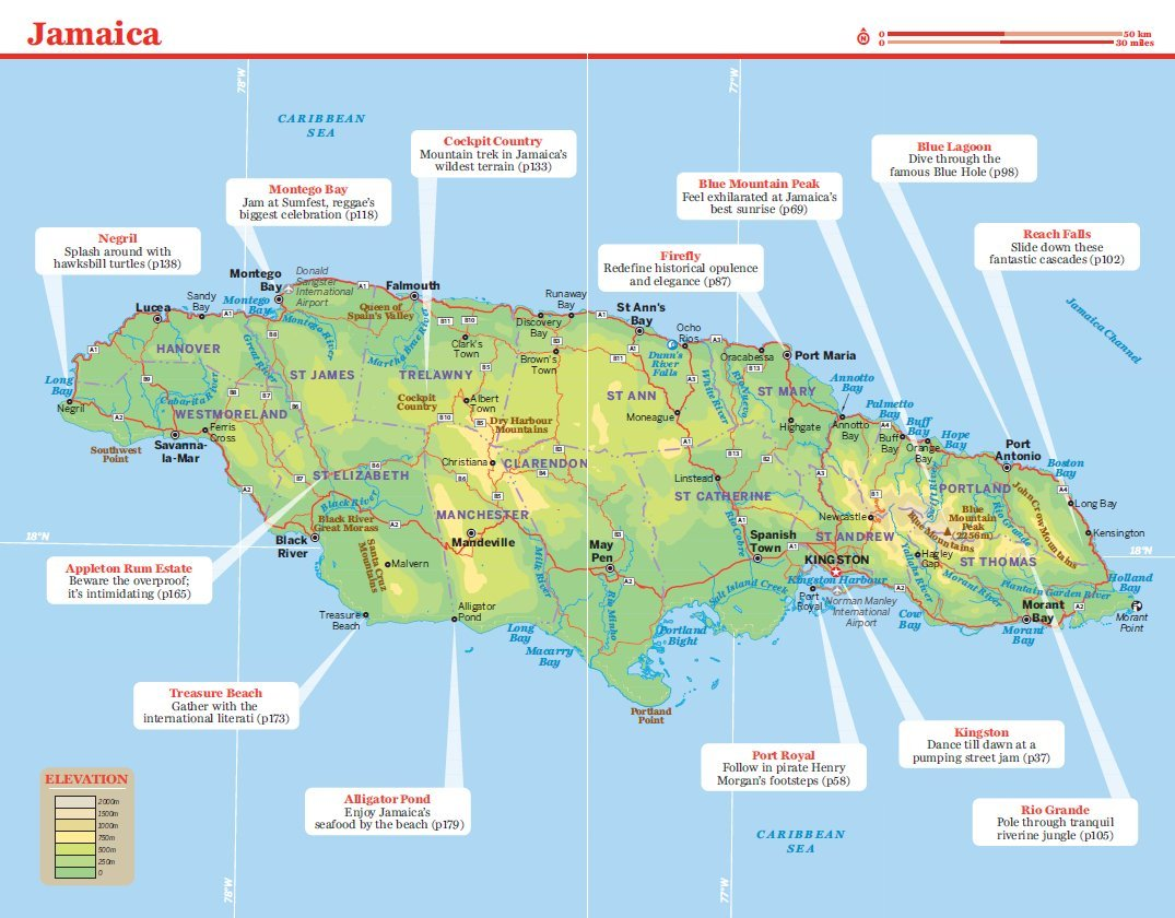 galleon lonely planet jamaica travel guide