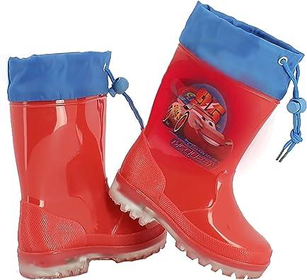 Stivali stivaletti pioggia bambino CARS 3 DISNEY PIXAR rossi