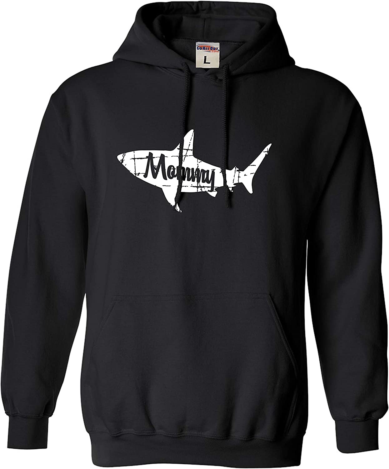 Go All Out Adult Fashion Mommy Shark Sweatshirt Hoodie