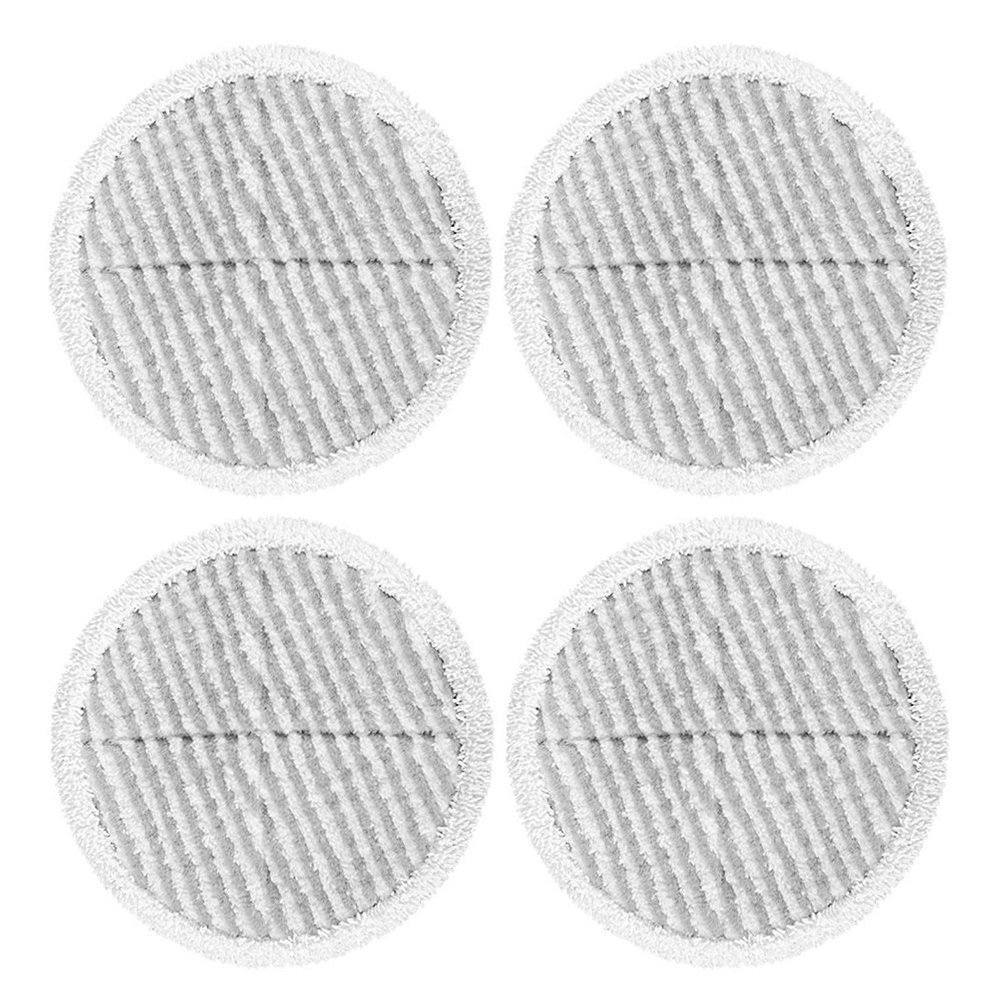 ECOMAID Replacement Pads for Bissell Spinwave Powered Hard Floor Mop | Compatible with 2124 2039A 2039 20391 20395 2039Q 2039T 2039W (4 Scrubby Pads)