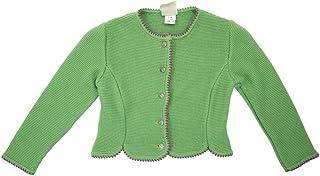 Isar-Trachten Strickjacke Mädchen Grün Größe:92