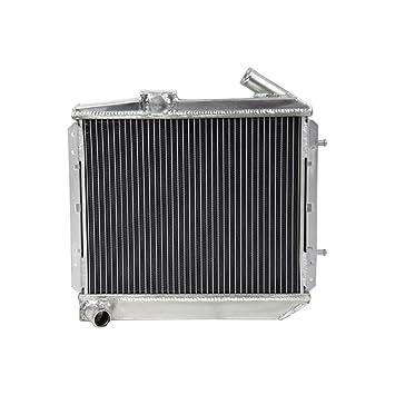 alloyworks 3 fila Radiador de aluminio para Renault 5/R5 9/11 GT 62 mm Turbo MT 1985 - 1991: Amazon.es: Coche y moto
