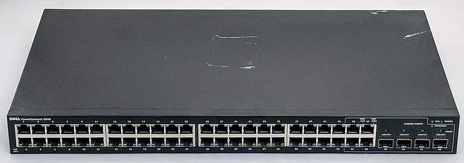 Dell PowerConnect 2848 - Switch - 48 Ports - Managed - Desktop, Rack-mountable (469-4245)