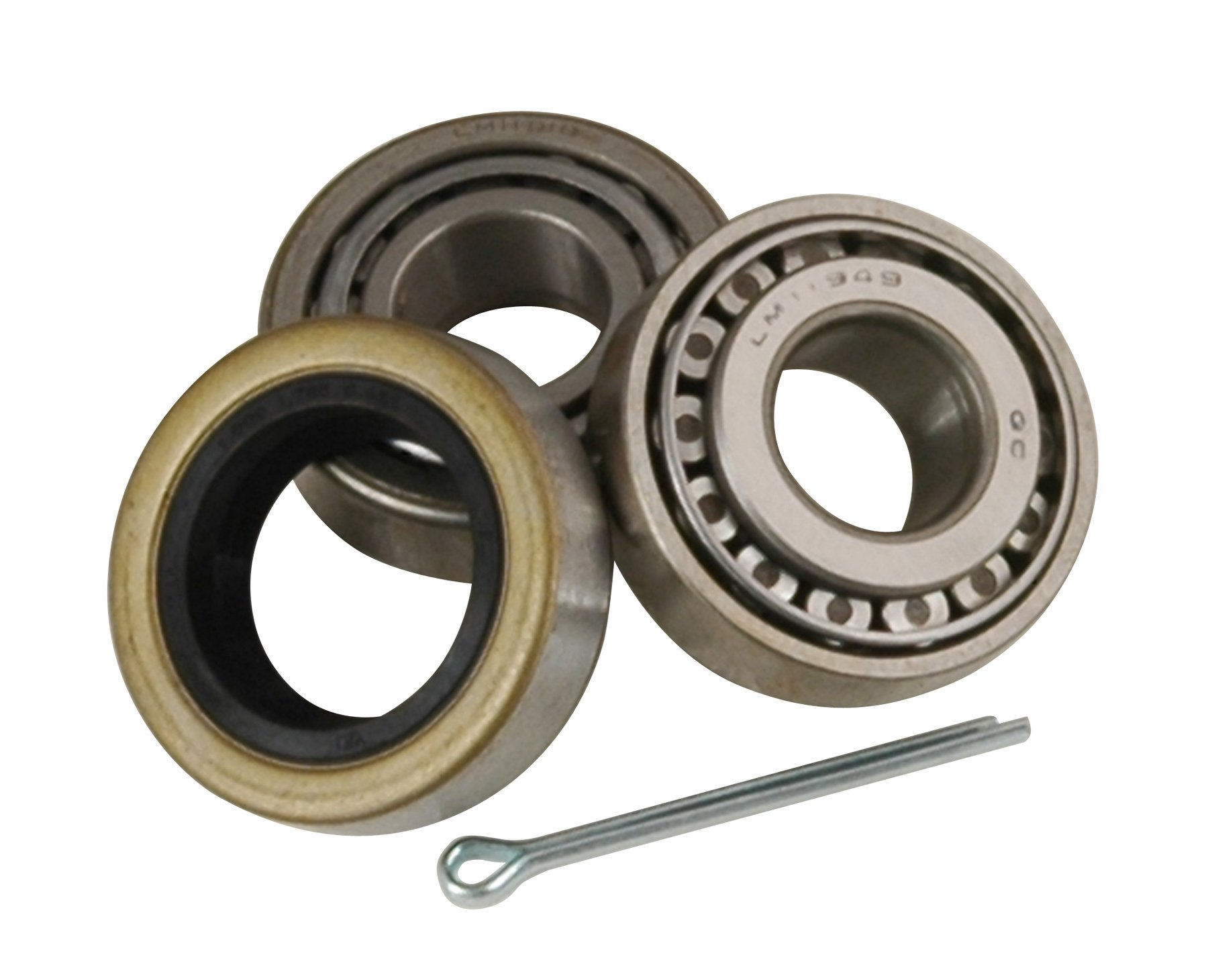 CE Smith Trailer 27113 Bearing Kit (Straight), 1 1/4''- Replacement Parts and Accessories for your Ski Boat, Fishing Boat or Sailboat Trailer