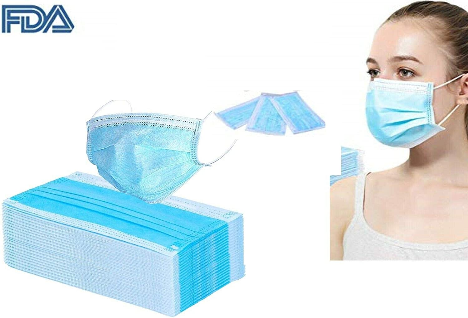 disposal face masks medical