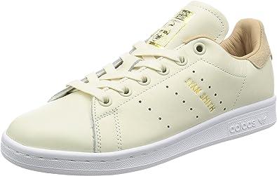 pegar mesa símbolo  Zapatillas adidas – Stan Smith W Beige/Beige/marrón Talla: 44: Amazon.es:  Zapatos y complementos