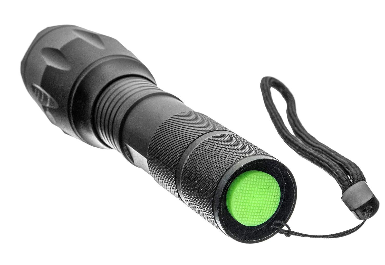FL338-10W Black 500 Lumen Emergency Zoom Flashlight SE