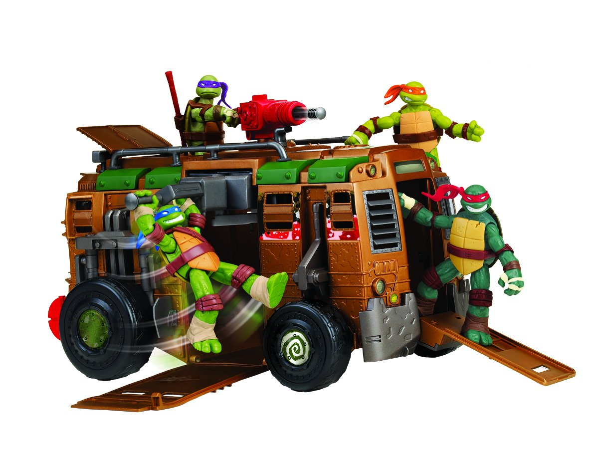tmnt tua41 camion de combats tortues ninja amazonfr jeux et jouets - Tortue Ninja