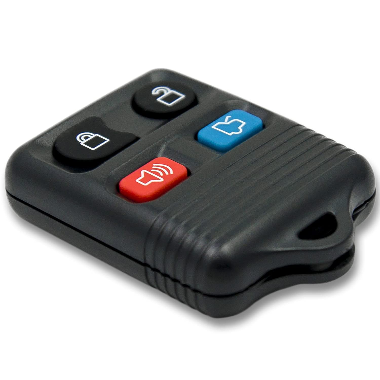 Keyless2Go R-FD-4.go Entry Remote Car Key Fob Replacement for Vehicles That Use Self-Programming