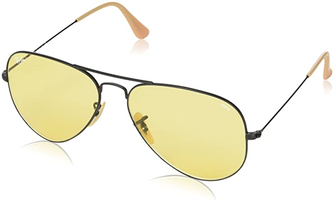 3e7b3c1461e Image Unavailable. Image not available for. Colour  Ray-Ban UV Protected  Aviator Men s Sunglasses ...