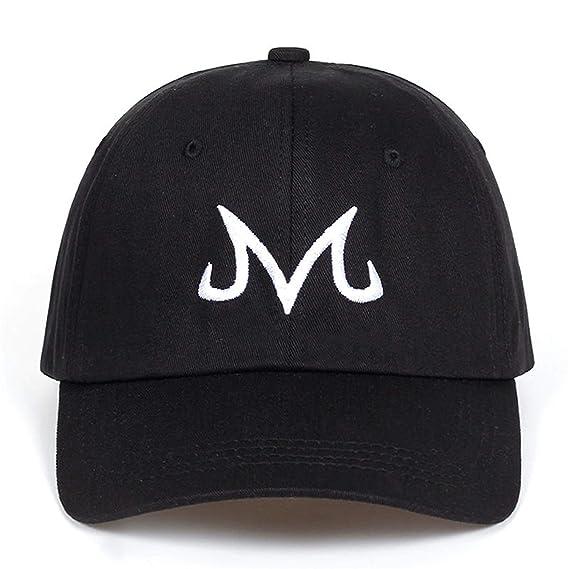 Marca de alta calidad Majin Buu Snapback Cap de algodón gorra de béisbol para hombres mujeres Hip Hop papá sombrero gorras de golf hueso Garros: Amazon.es: ...