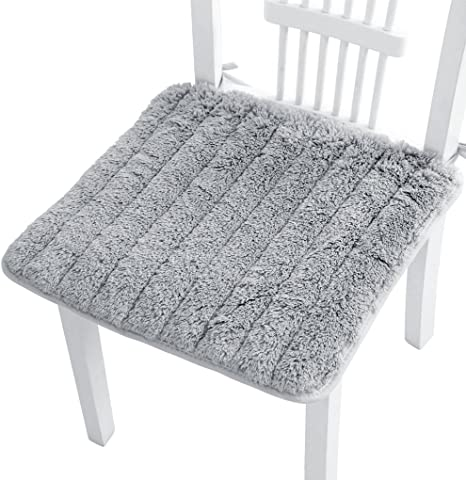 Seat Pads Dining Room Home Garden Kitchen Soft Warm Square Chair Cushions Tie On
