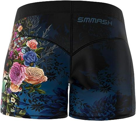 Atmungsaktiv Trainingshose Jogginghose Sporthose Kurz Damen f/ür Crossfit SMMASH Botanica Damen Leggings Kurze Gym Hose Shorts Damen Hergestellt in der EU Outdoor Laufhose