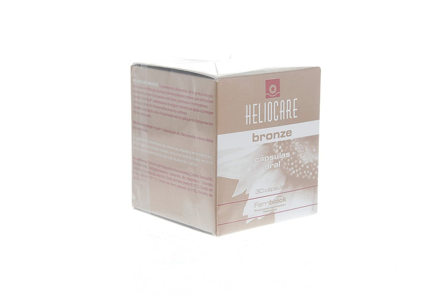Amazon.com : Heliocare Bronze Capsules (30 Caps) : Sunscreens And Tanning Products : Beauty