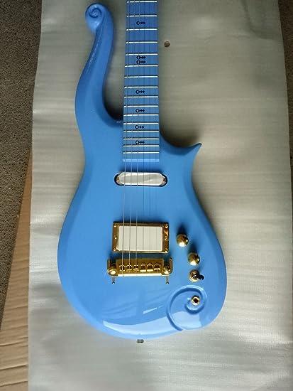Amazon Com Good Quality Factory Prince Cloud Symbol Electric Guitar