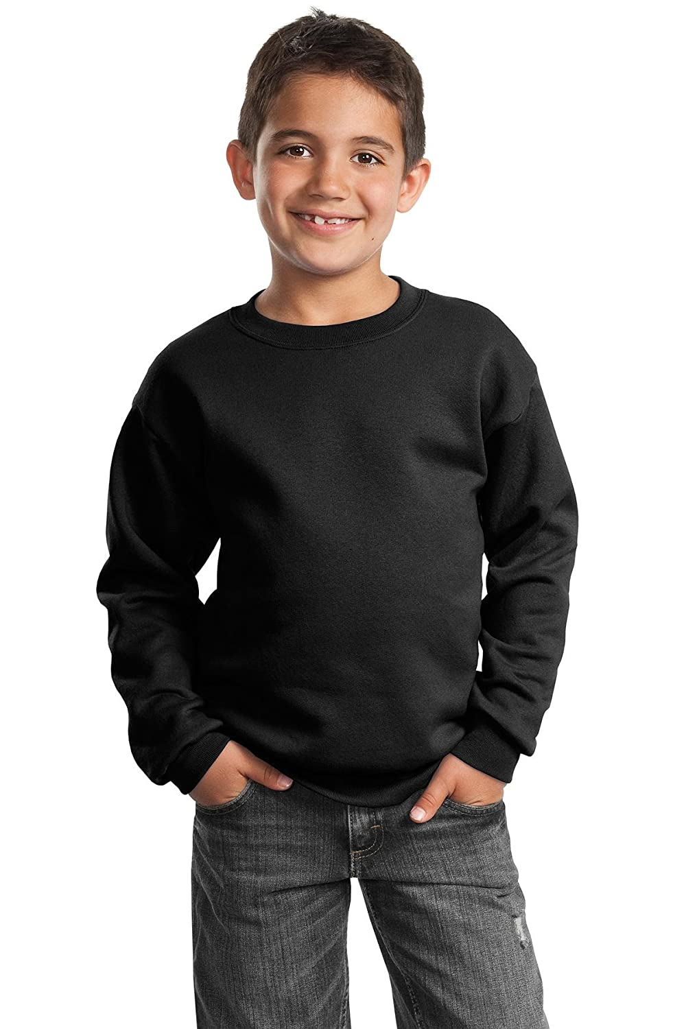 Port /& Company Boys Crewneck Sweatshirt