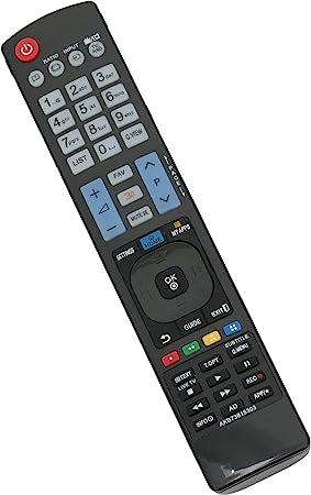 allimity AKB73615303 Reemplazar Control Remoto Apto para LG LED LCD Smart 3D TV: Amazon.es: Electrónica
