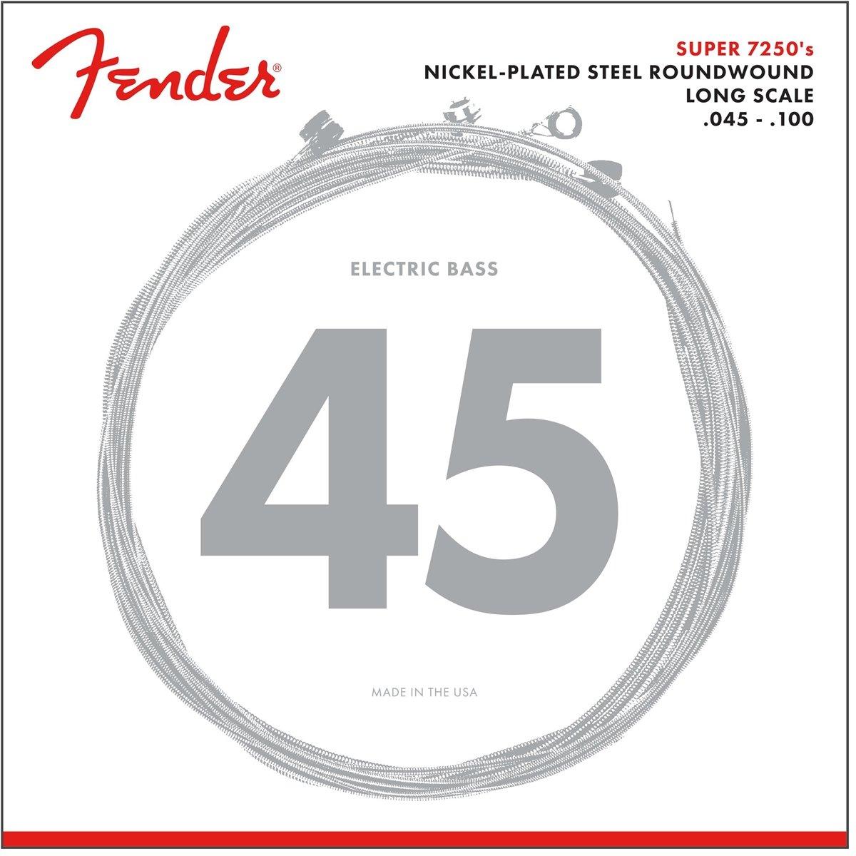 Amazon Fender 7250 Nickel Plated Steel Roundwound Bass Strings
