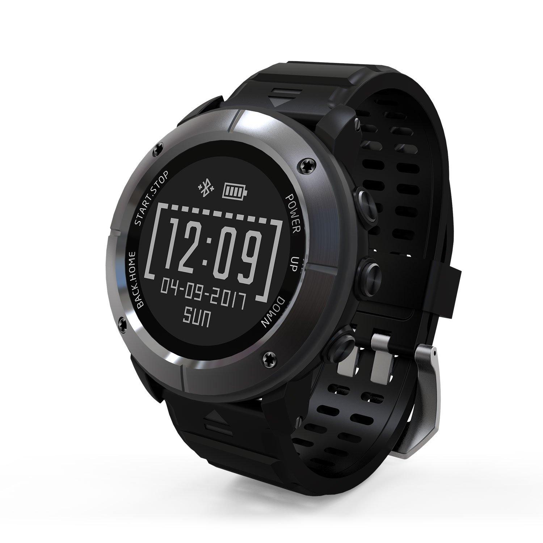 Sport Watch, HAMSWAN UW80 GPS Smart Watch IP68 Waterproof Running Watch Bluetooth Fitness...